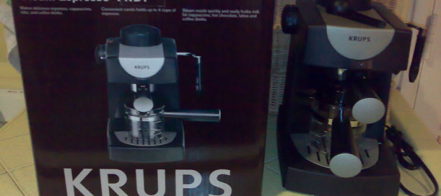 Pump or Steam Espresso Machine